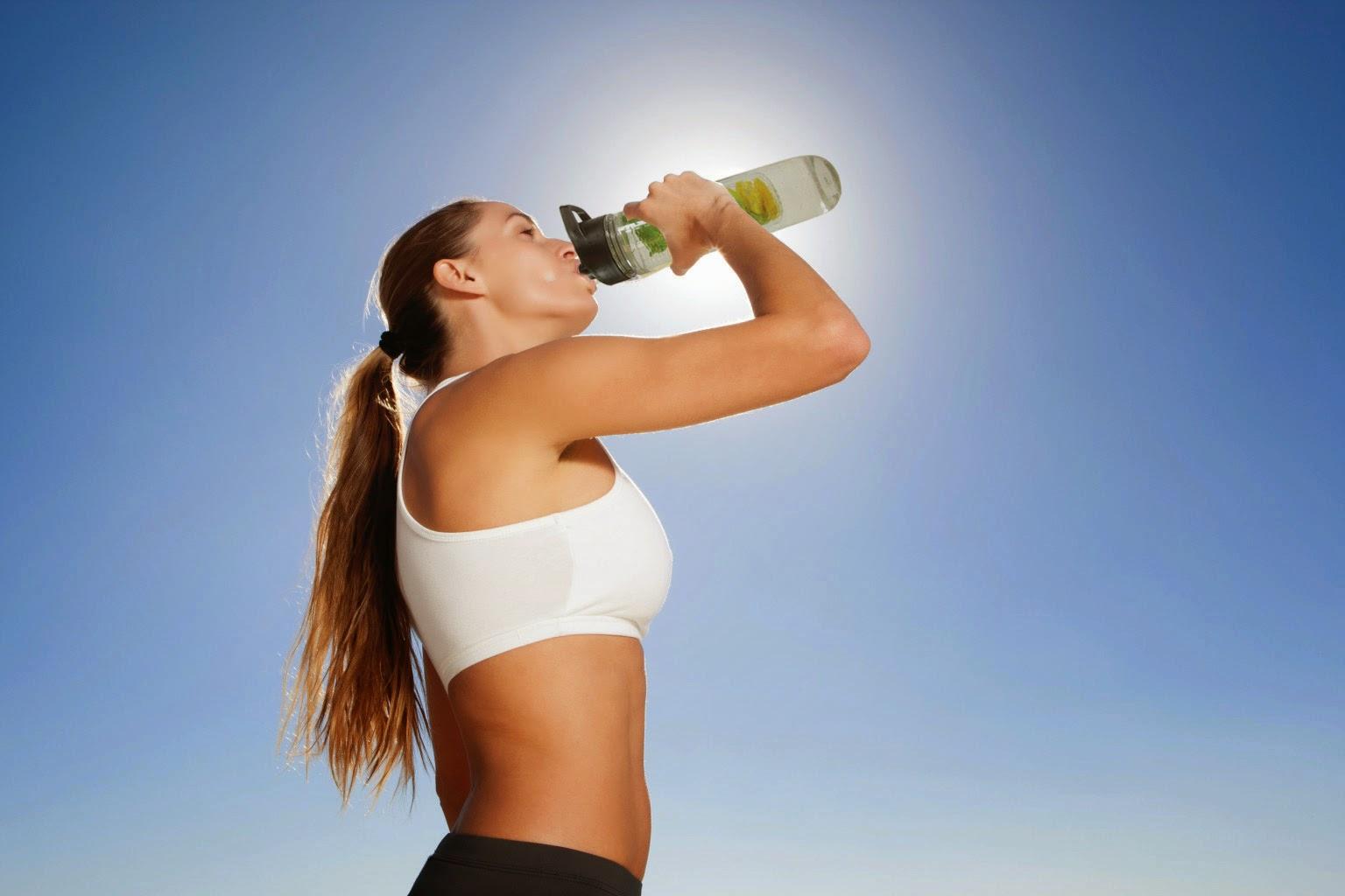 暑熱環境下での水分補給の重要性